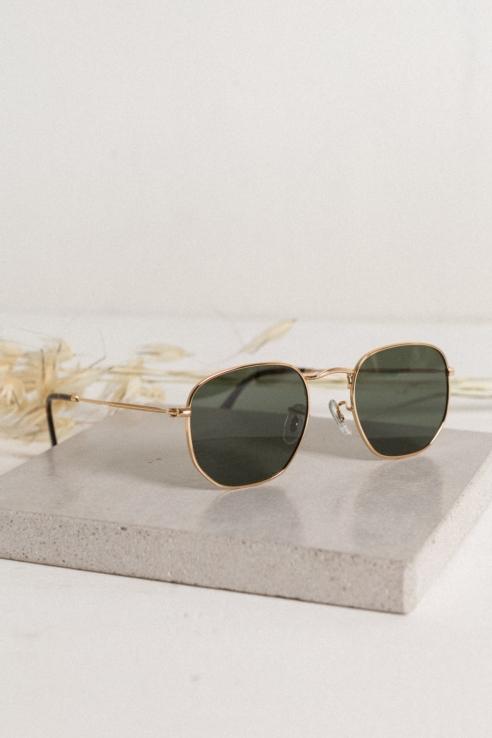 golden metal sunglasses