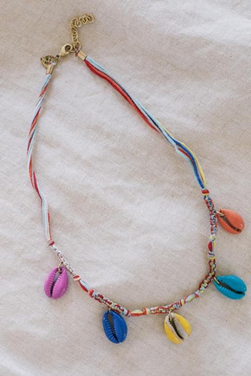 gargantilla multicolor turmalina