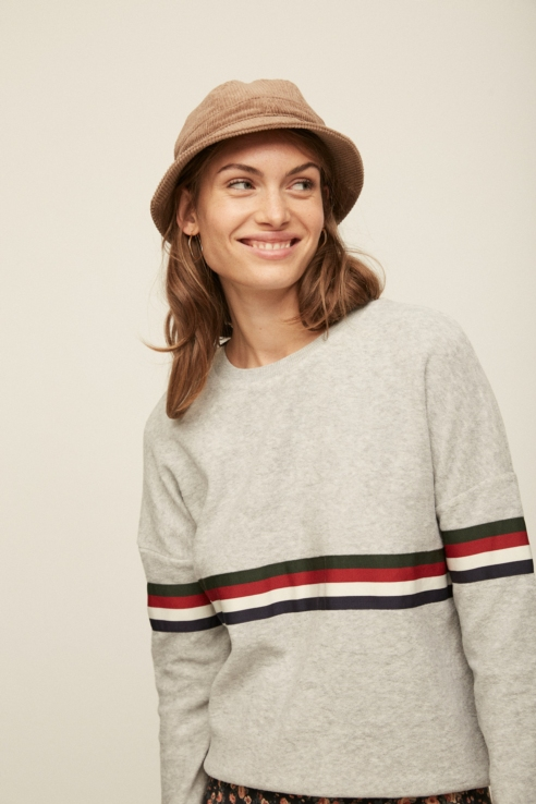 camel corduroy bucket hat