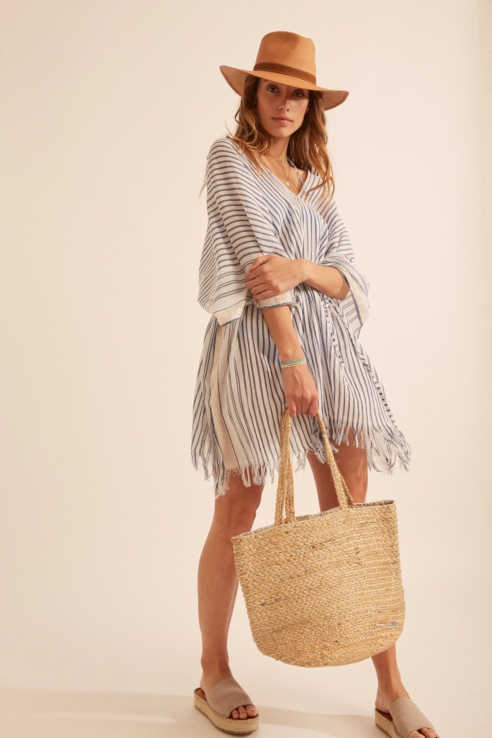 sailor stripes kaftan