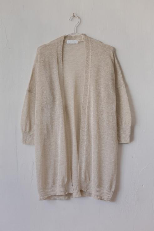 kimono lurex dorado