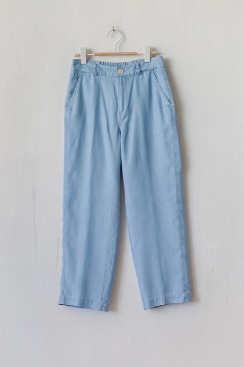 pantalón fluido culotte