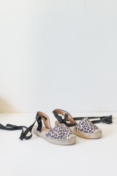 sandalia estampado leopardo