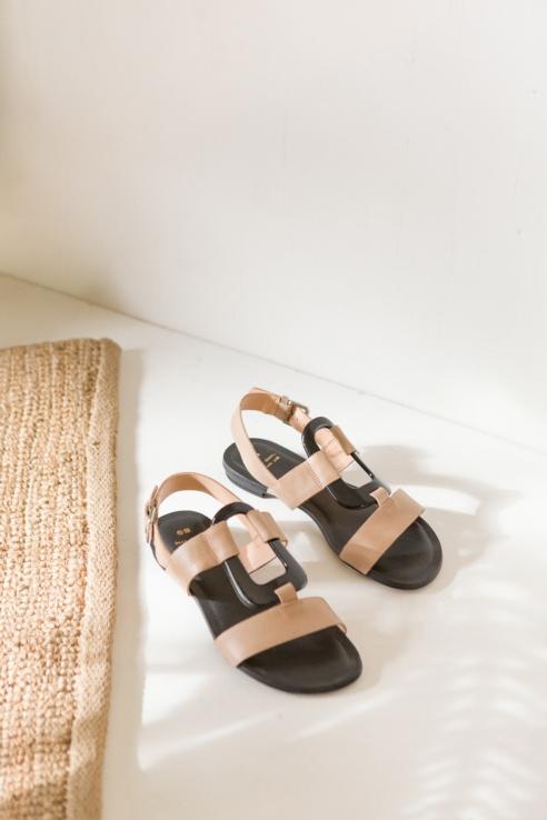 sandalia pieza central