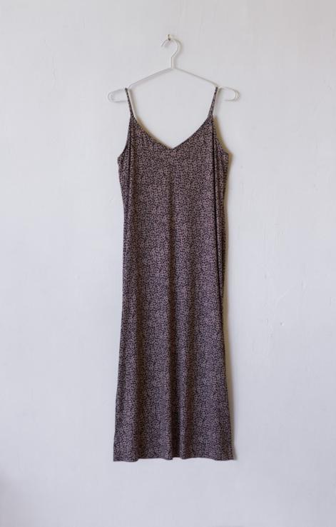 vestido estampado leaopardo