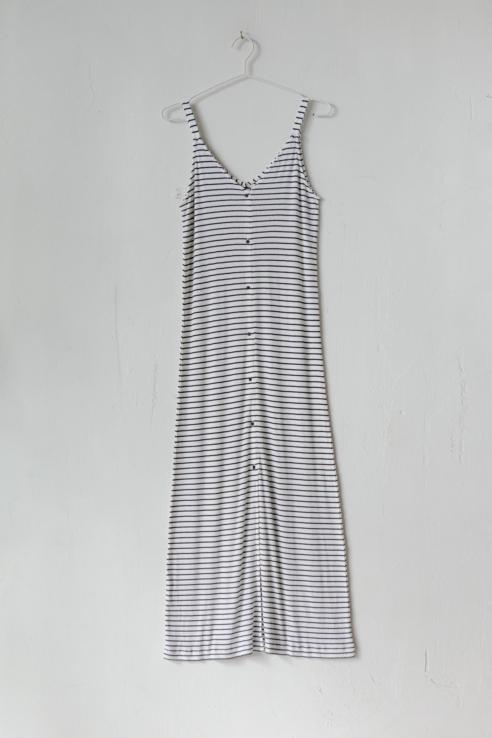 vestido largo marinero