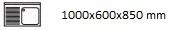 1000X600X850 I