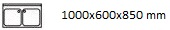 1000X600X850