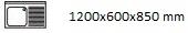 1200X600X850 D