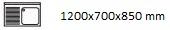 1200X700X850 I