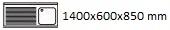 1400X600X850 I
