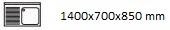 1400X700X850 I