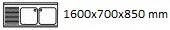 1600X700X850 I