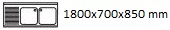 1800X700X850 I