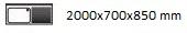 2000X700X850 D