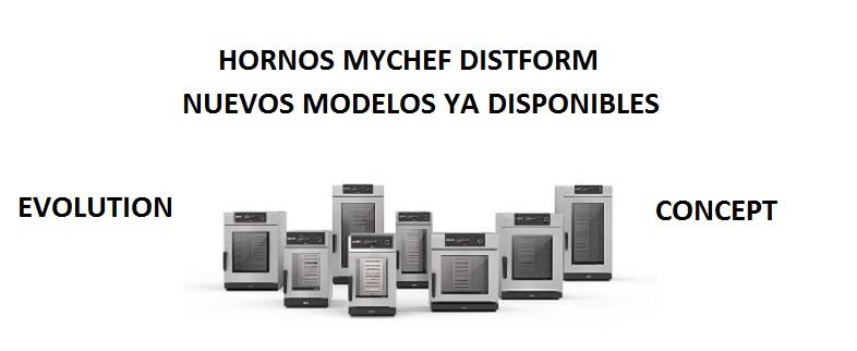hornos mychef distform evolution y concept
