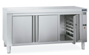 MESA CALIENTE CENTRAL GAMA 700 CON GUIAS GN 1/1