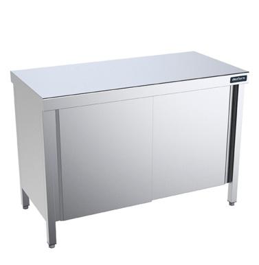 mesa central gama 800 con puertas distform