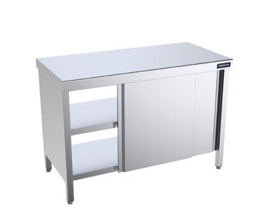mesa central gama 800 con puertas pasante distform