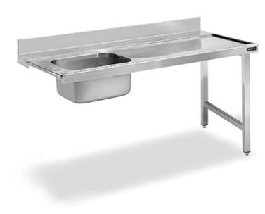 mesa de prelavado distform