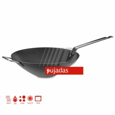 sarten,hosteleria,menaje,bateria,pujadas,acero,induccion,wok