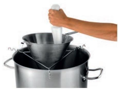 Soporte triangulo profesional menaje hosteleria deldivel for Soporte utensilios cocina