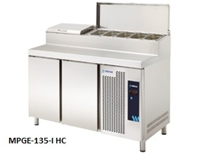 mesa refrigerada de hosteleria preparacion de ensaladas edenox