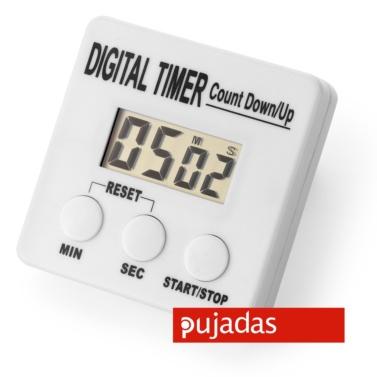 reloj de cocina digital para cocina profesional pujadas