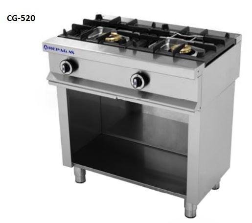 Cocinas a gas repagas for Cocinas industriales a gas