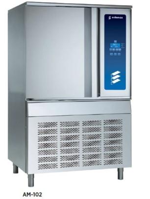 abatidor de temperatura edenox para hosteleria restaurante colectividades y catering 10 bandejas gastronorm 2-1