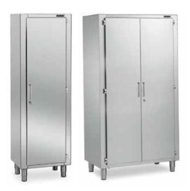armario de pie inox para almacenaje distform