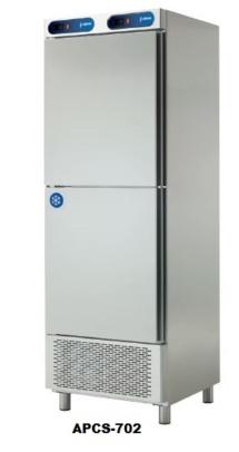 armario refrigerado con compartimento de congelacion para hosteleria edenox