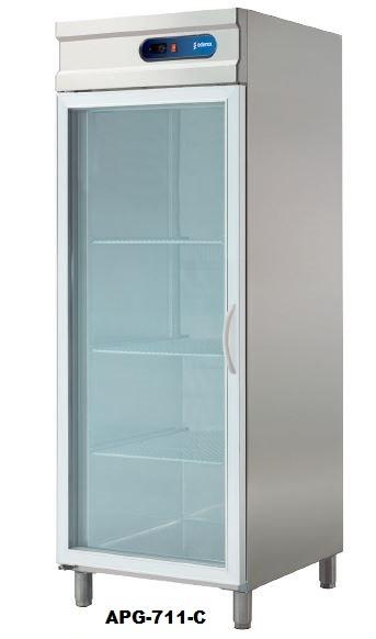 Armarios neveras con puertas de cristal de hosteleria restaurantes edenox - Armarios con puertas de cristal ...
