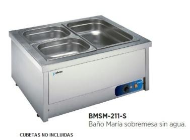 bano maria para hosteleria con calor seco funcionamiento sin agua