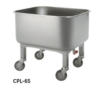 carro de servicio de lavado para hosteleria edenox