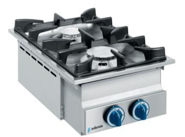 cocina industrial encastrable para show cooking buffet self service