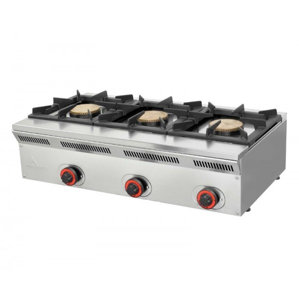 Cocina profesional mainho cocinas industriales deldivel for Fogones industriales a gas