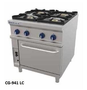 Cocinas Gas Con Horno Repagas Maquinaria Hosteleria Deldivel