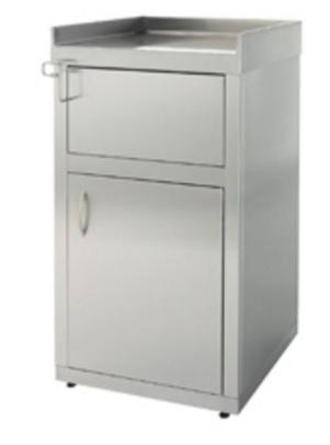 contenedor para desperdicios construido en acero inoxidable para hosteleria restaurantes self service