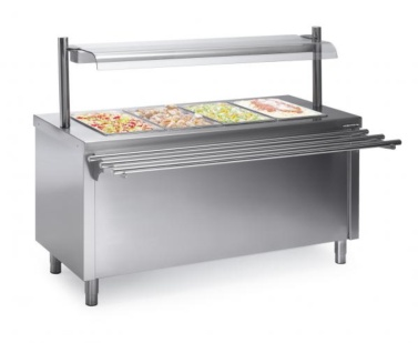 cuba buffet con reserva caliente