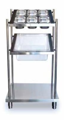 dispensador de cubiertos vasos y bandejas self service distform