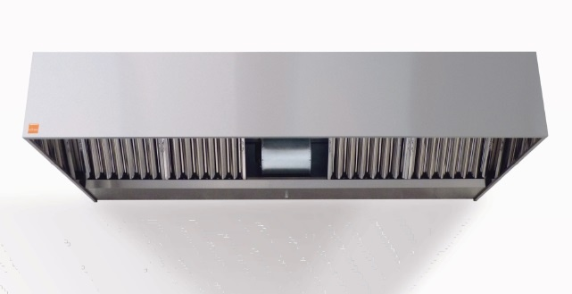 campana de extraccion de humos reversible con motor incorporado