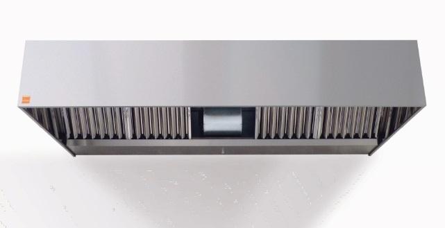 campana de extraccion reversible con motor incorporado 400º2/h