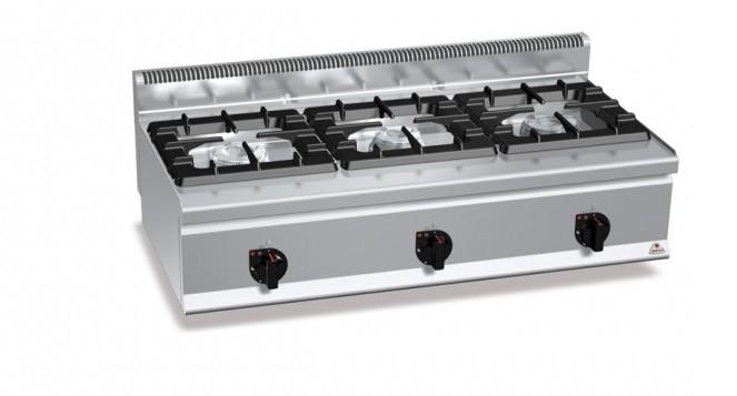Cocina profesional high berto cocinas industriales for Cocina gas profesional