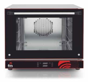 horno panaderia punto caliente mandos digitales fm