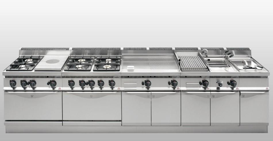 Cocina profesional berto 700 cocinas industriales deldivel for Cocinas industriales a medida