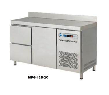 nevera mesa refrigerada gastronorm con cajones para hosteleria restaurantes edenox