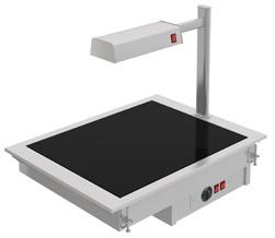 placa vitroceramica con pantalla de calor