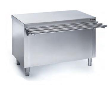 mesa neutra con puertas para self service