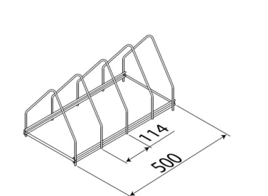 soporte bandejas para lavautensilios de hosteleria edenox